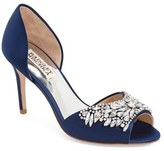 Badgley Mischka Women's 'Candance' Crystal Embellished D'Orsay Pump