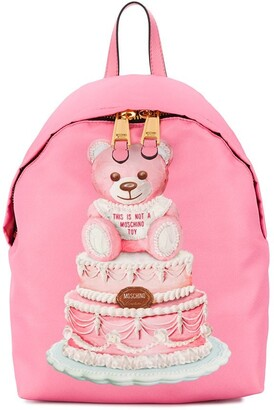 Moschino Cake Teddy Bear backpack