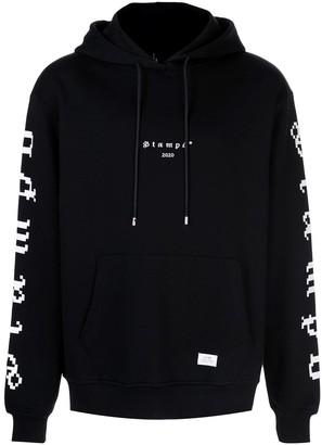 Stampd Digital-print cotton hoodie