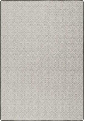 "Stencils Gray Area Rug Milliken Rug Size: Runner 2'1"" x 7'8"""
