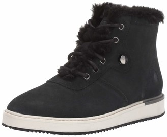 Hush Puppies Women's Sabine Fur Hiker Fashion Sneakers