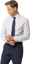 Tommy Hilfiger Tailored Collection Pindot Fitted Dress Shirt