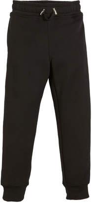 Balmain Logo-Sides Cotton Sweatpants, Size 4-10