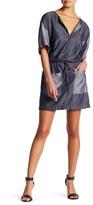Laundry by Shelli Segal Drawstring Chambray Dress (Petite)