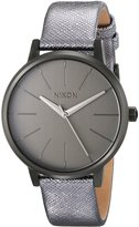 Nixon Women's A1081924 Kensington Leather Watch
