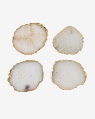 Express Shiraleah Set Of 4 Agate Coasters