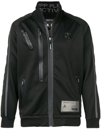 Philipp Plein Zip Detailed Sports Jacket