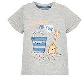 Mothercare Baby Boys Mb Lab Epp Buckets Of Fun Short Sleeve Tee T - Shirt