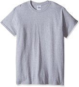Gildan Men's Ultra Cotton Tee Extended Sizes, Sport Grey