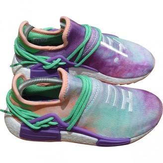 Adidas X Pharrell Williams NMD Hu Multicolour Cloth Trainers