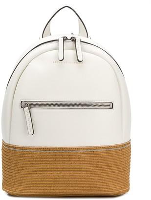 BRUNELLO CUCINELLI KIDS Contrast Panel Backpack