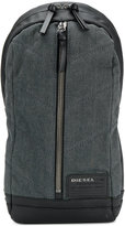Diesel single strap backpack