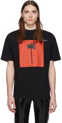Palm Angels SSENSE Exclusive Black Big Palm x Palm T-Shirt