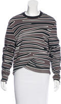 3.1 Phillip Lim Abstract Print Crew Neck Sweatshirt