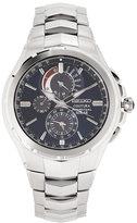 Seiko SSC375 Silver-Tone & Blue Watch