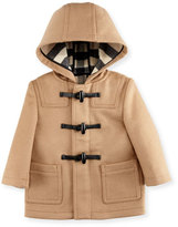 Burberry Brogan Hooded Duffle Coat, New Camel, Size 6M-3
