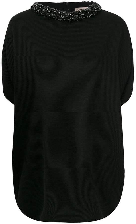 Armani Collezioni classic knitted top