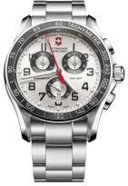 Victorinox Mens Stainless Steel Chronograph Classic XLS Watch