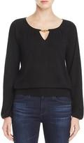 Tory Burch Marie Keyhole Cashmere Sweater