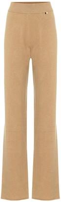 Extreme Cashmere Wide-leg cashmere lounge pants