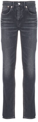 Balenciaga Stonewashed Effect Skinny Fit Jeans