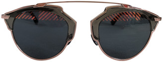 Christian Dior So Real Blue Metal Sunglasses