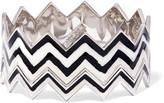 Missoni Stacked two-tone enamel bracelet