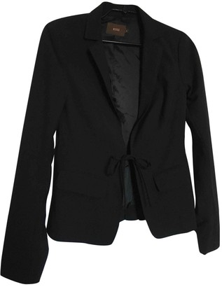 Reiss Black Wool Jacket for Women