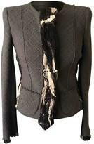 Emilio Pucci Grey Wool Jacket for Women