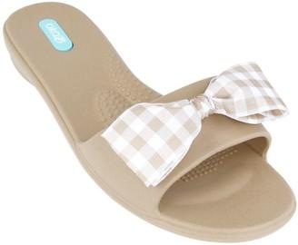 OKA b. Oka-B Bow Slide Sandals - Madison