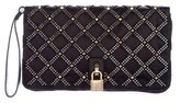 Marc Jacobs Quilted Satin Wristlet