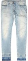 Maison Margiela Light Blue Stonewashed Slim-leg Jeans