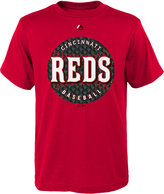 Majestic Boys' Cincinnati Reds Electric Ball T-Shirt