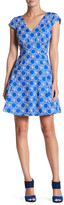 Plenty by Tracy Reese Print Cap Sleeve Dress