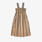 Burberry Junia Dress (Little Kids/Big Kids) (Archive Beige IP S) Girl's Clothing