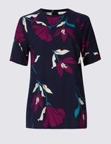 Marks and Spencer Short Sleeve Maria Shell Blouse