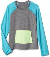 Athleta Girl Heather Summer Shade Rashguard