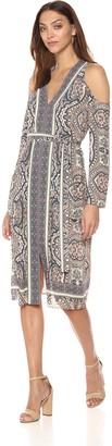 BCBGMAXAZRIA Azria Women's Cindi Woven Casual Dress