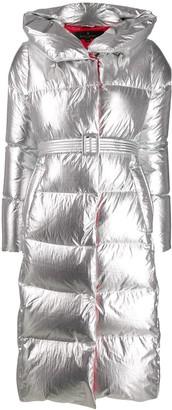 Nicole Benisti metallic padded coat