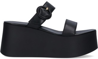 Gianvito Rossi Side Buckle Sandals