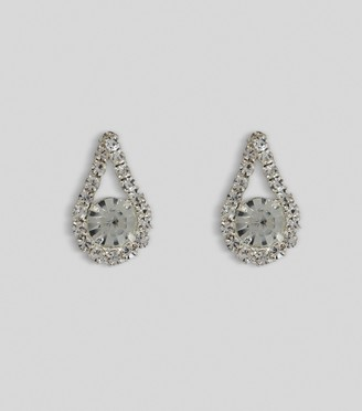 New Look Gem Teardrop Stud Earrings