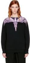Marcelo Burlon County of Milan Ssense Exclusive Black Malon Sweatshirt