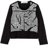 Thakoon Sequined-Front Silk Jacket