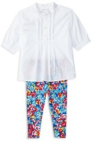 Ralph Lauren Girls' Top & Floral Leggings Set - Baby