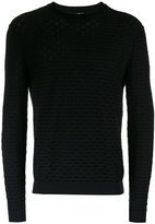 Paul Smith ribbed detail jumper - men - Cotton - S