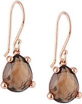 Ippolita Smoky Quartz Pear-Shaped Drop Earrings