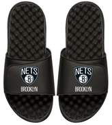 ISlide NBA Brooklyn Nets Primary Slide Sandal, Black