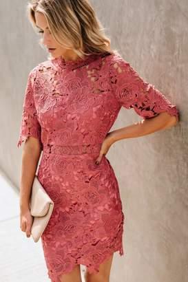 Just Me Rose Crochet Overlay