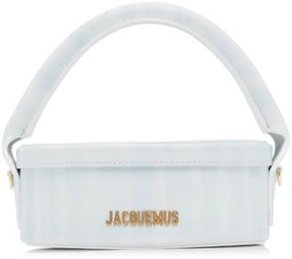 Jacquemus La Boite Checked Leather Bag