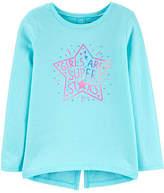 Carter's Little Kid / Big Kid Girls Long Sleeve T-Shirt